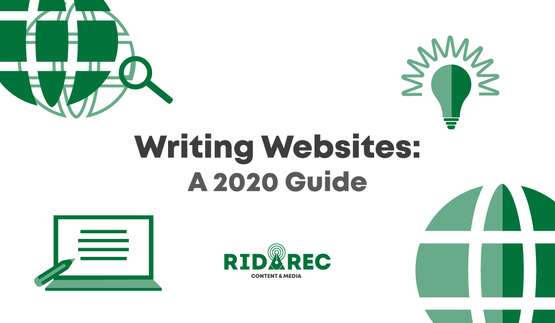 Writing Websites: A 2020 Guide
