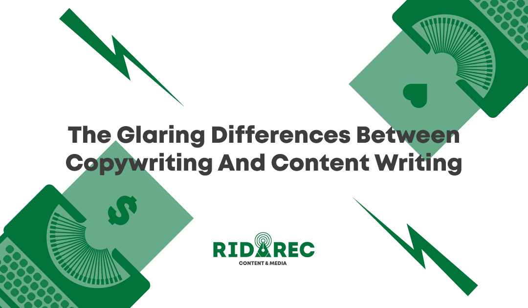 The Glaring Differences Between Copywriting And Content Writing